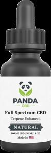 full spectrum CBD oil tincture - Panda CBD